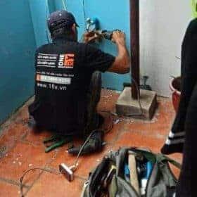 cách sửa vòi nước bị hỏng