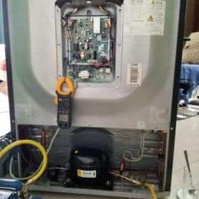 sửa tủ lạnh rò rỉ điện